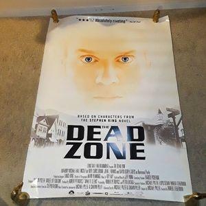 WHITE ORIGINAL THE DEAD ZONE 2003 MOVIE POSTER
